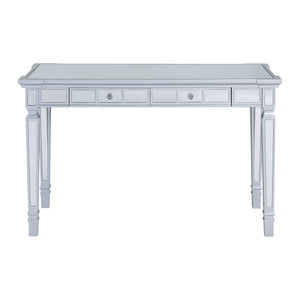 Glenview Glam Mirrored Writing Desk w/ Drawers