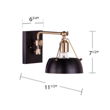 Load image into Gallery viewer, Renmarco Contemporary Wall Sconce - Black  -  LT1039150
