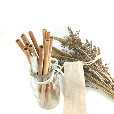 Eco-friendly bamboo straw