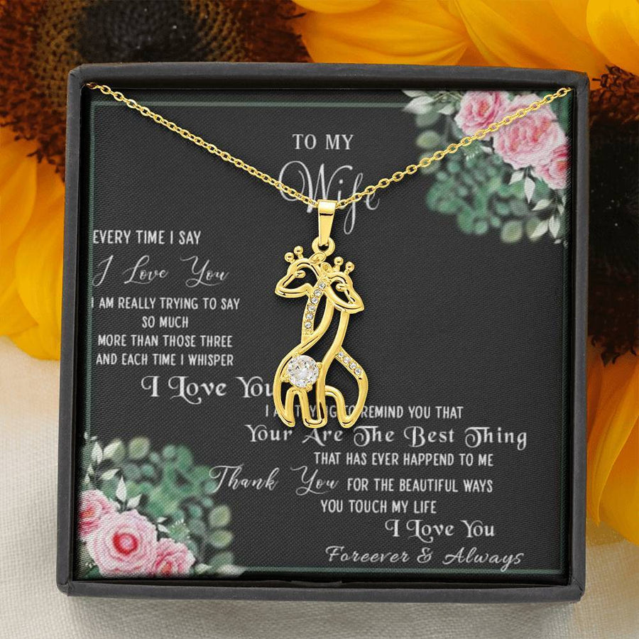 To My Wife - Forever And Always Necklace