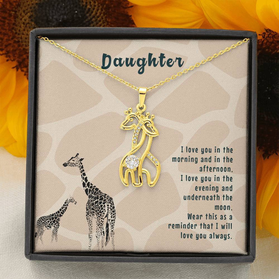 Giraffe Lover Gift from Mother to Daughter