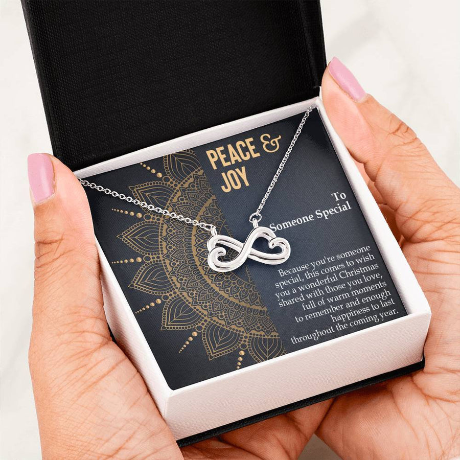 To Someone Special - Peace & Joy - Unique Gift Neclace