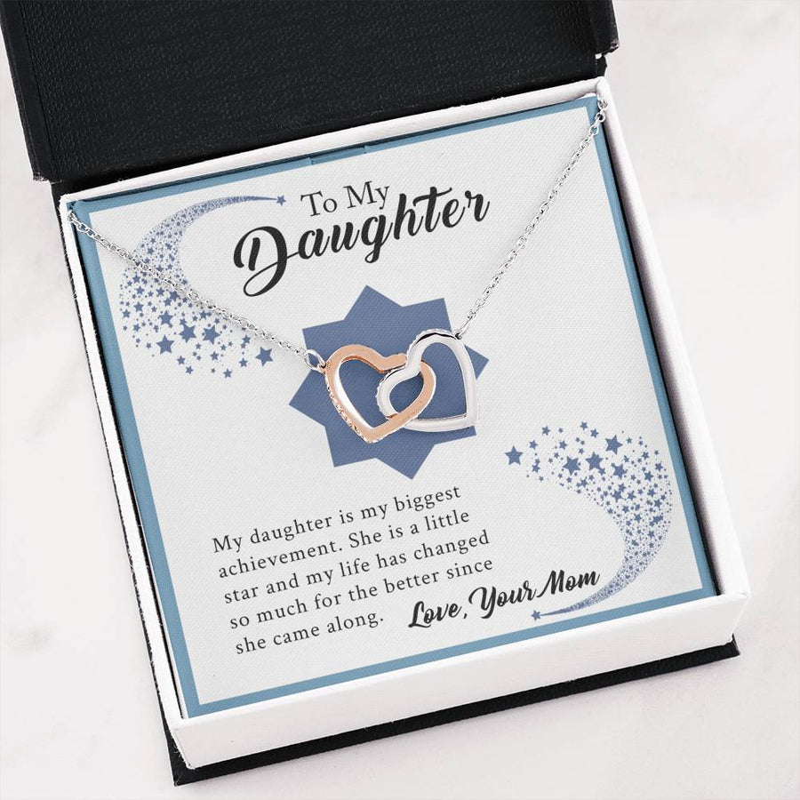 [Last Few] To My Daughter - You Are My Biggest Achievement - Necklace