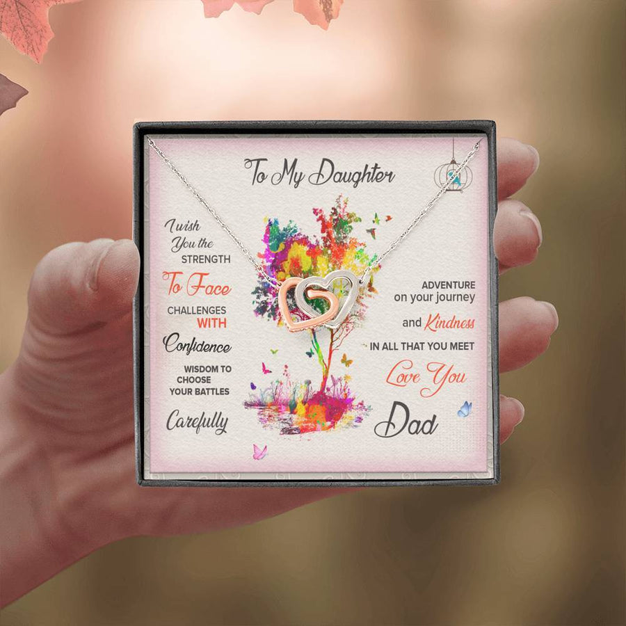 Buy Father Daughter Necklace Gift