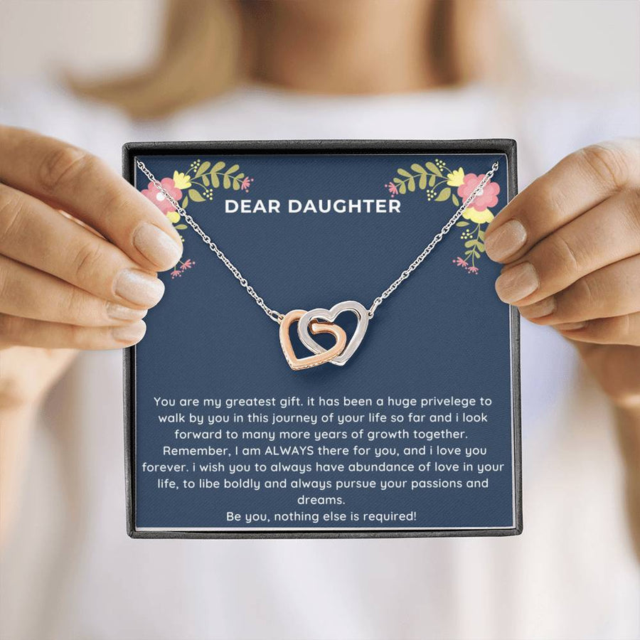 Be You Daughter Necklace