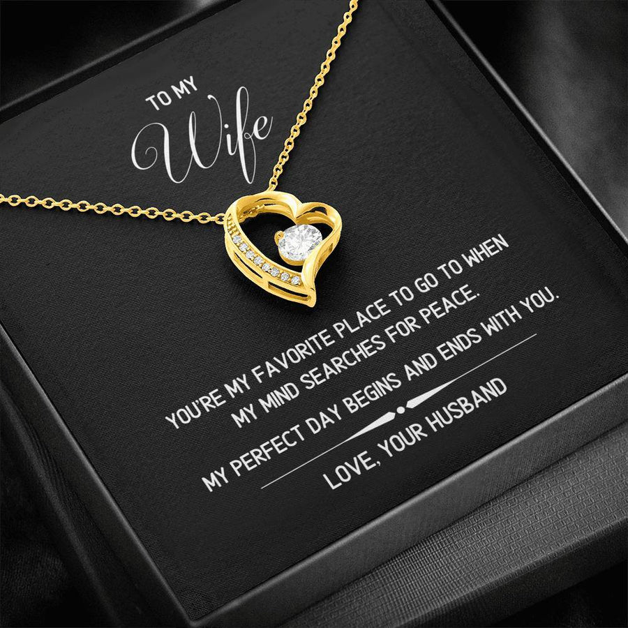 To My Wife - Favorite Place - Necklace