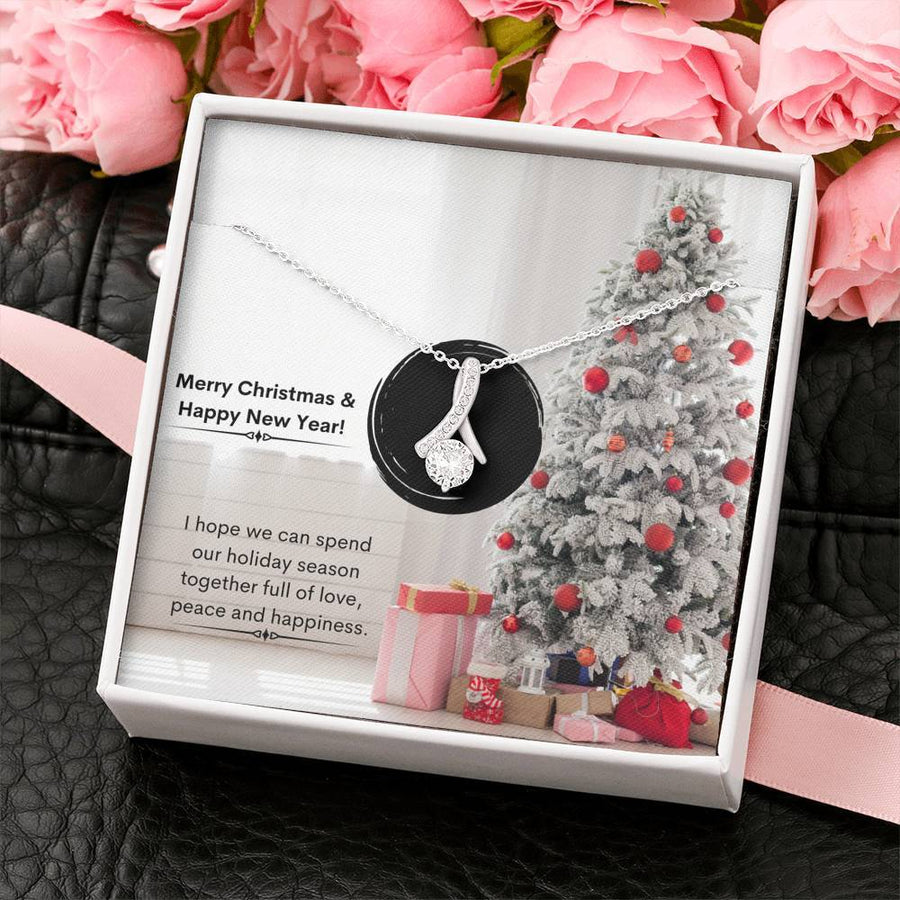 White Christmas Tree - Alluring Beauty Necklace