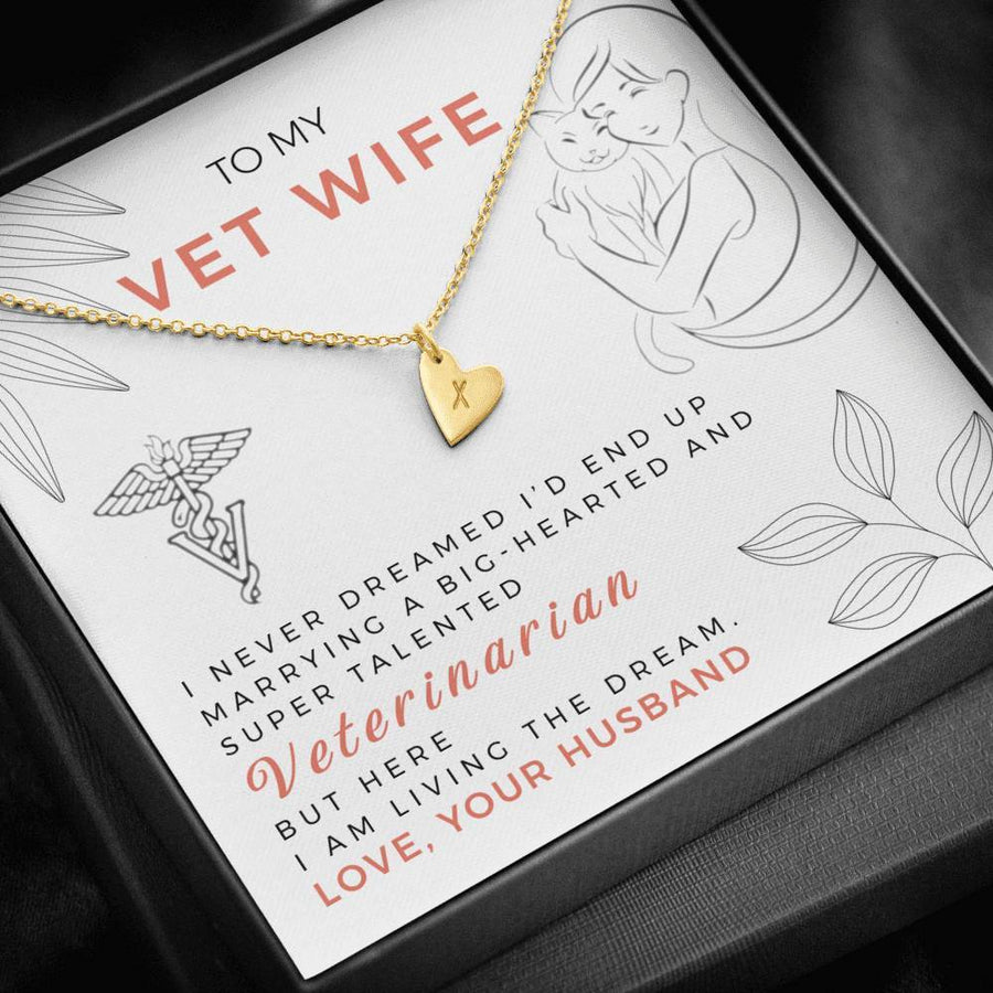 To My Vet Wife Necklace
