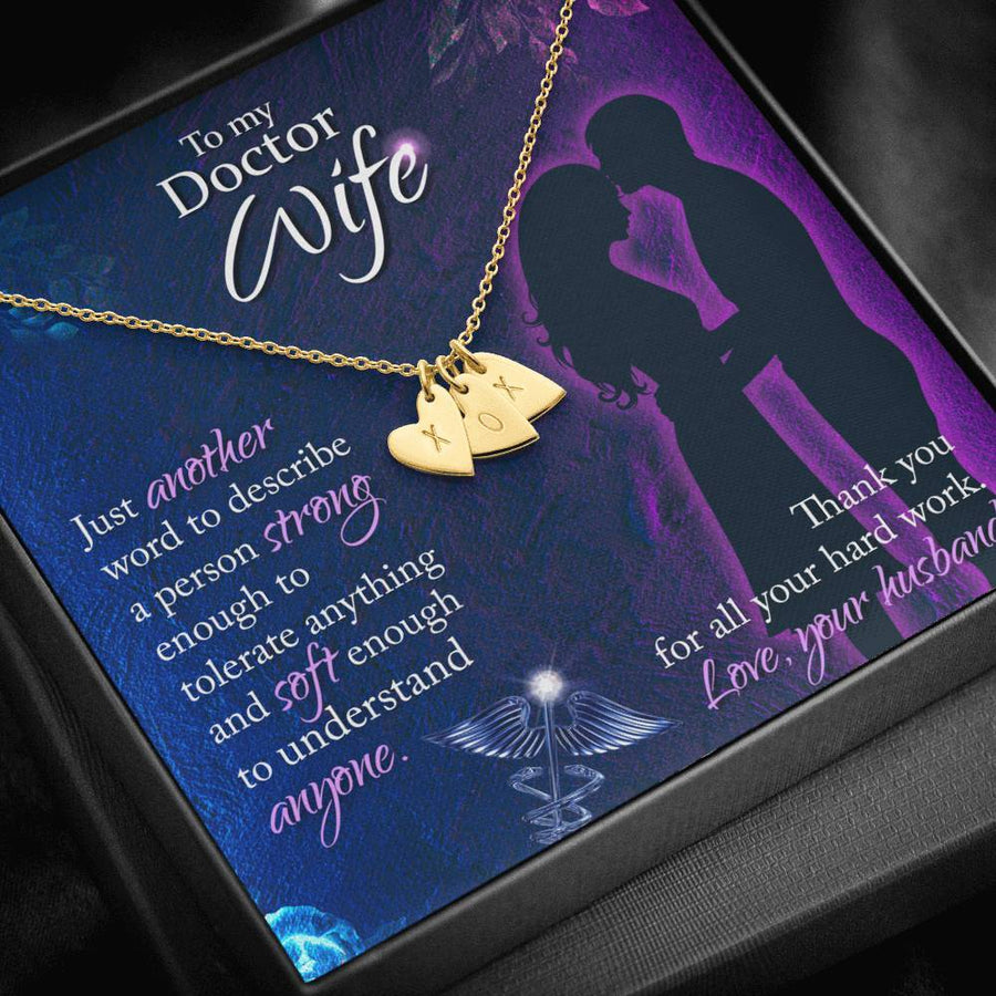 To My Doctor Wife Necklace