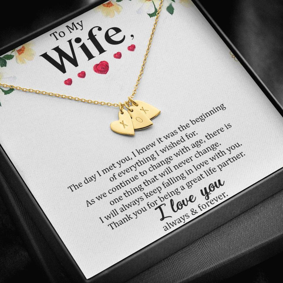 To My Wife - Always & Forever - Necklace