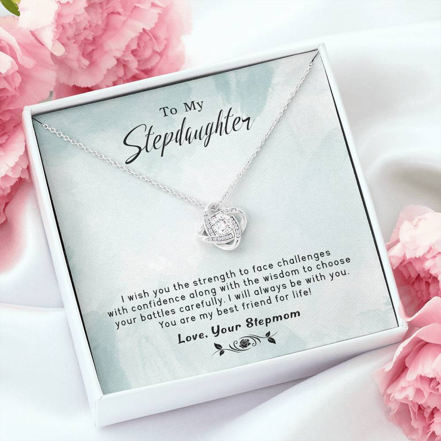 To My Stepdaughter - Best Friend For Life - Necklace
