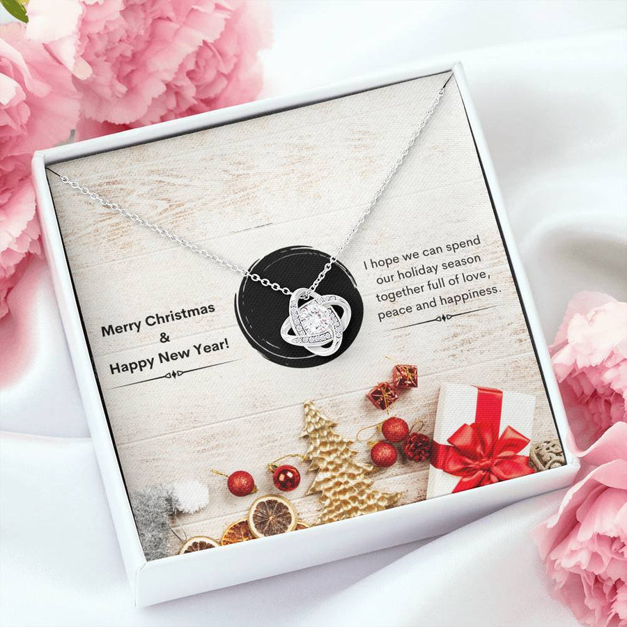 Blessing Xmas - Love Knot Necklace