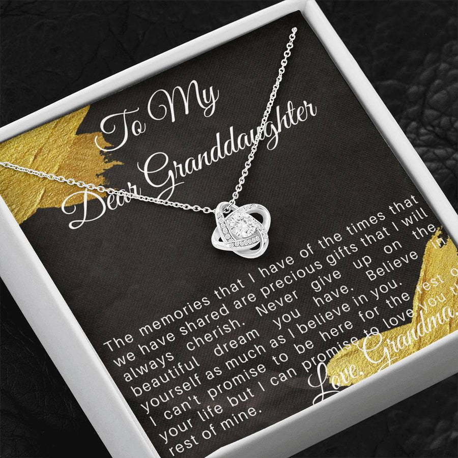 Sentimental Gift for Granddaughter, Christmas Gift for Granddaughter from Grandma
