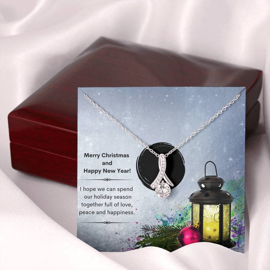 Xmas Lantern - Alluring Beauty Necklace