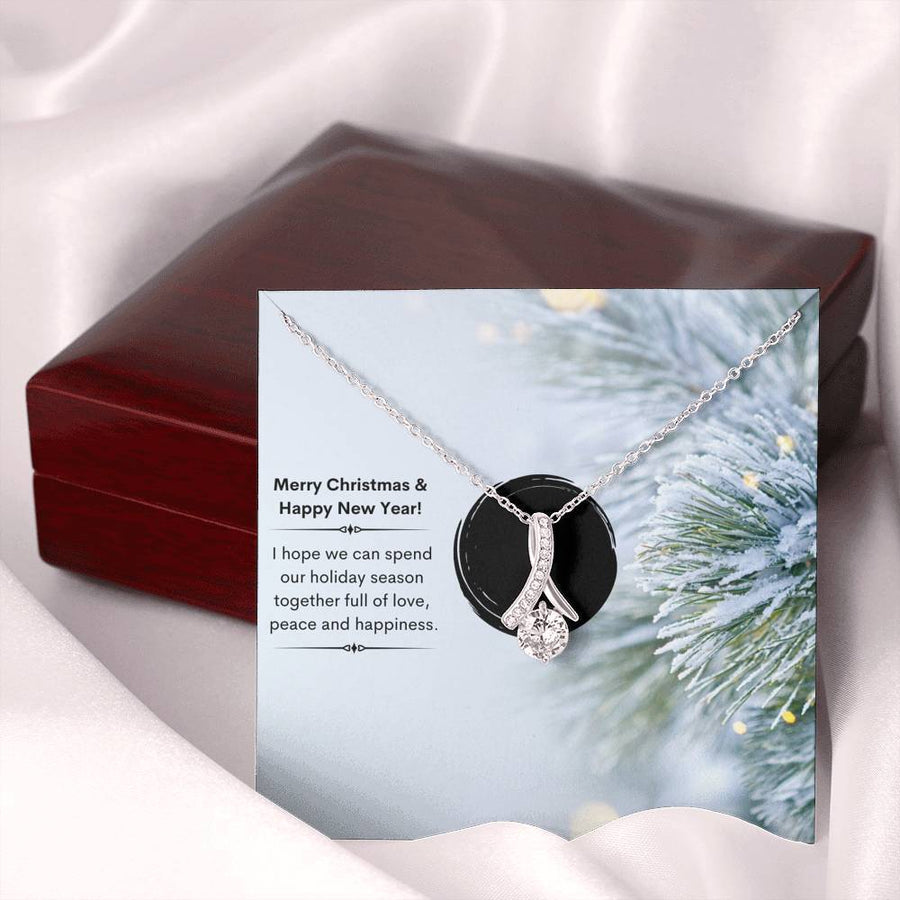 Winter Tree Xmas - Alluring Beauty Necklace