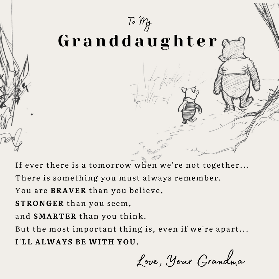 (Almost Gone) To My GrandDaughter