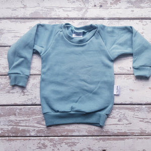Sweatshirt:  Sage (plain)