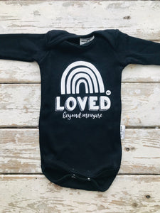 Onesie:  Loved Beyond Measure