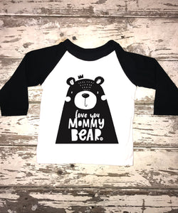 Raglan:  Mommy Bear