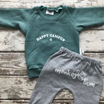 Sweatshirt:  Happy Camper