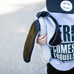 T-shirt: Here Comes Trouble