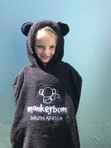 Hooded Towel: Little Monkeybum