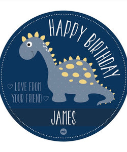 Stickers: Happy Birthday (Dinosaur)