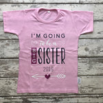 T-shirt: I'm Going to Be a Big Sister