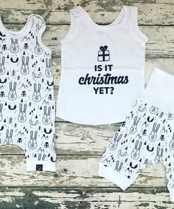 Tank Top: Is It Christmas Yet?