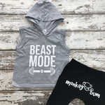 Hooded Vest: Beast Mode