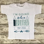 T-shirt: I'm Going to Be a Big Brother