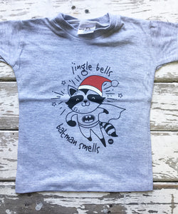 T-shirt: Jingle Bells Batman Smells