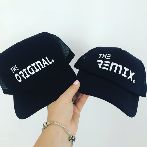 Matching Caps: Original and the Remix