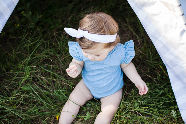 Headbands: 0-3 Months Twist and Tie