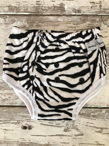 Training Pants: Zebra