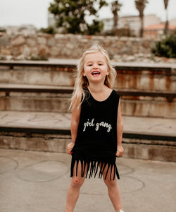 Fringe Dress: Girl Gang