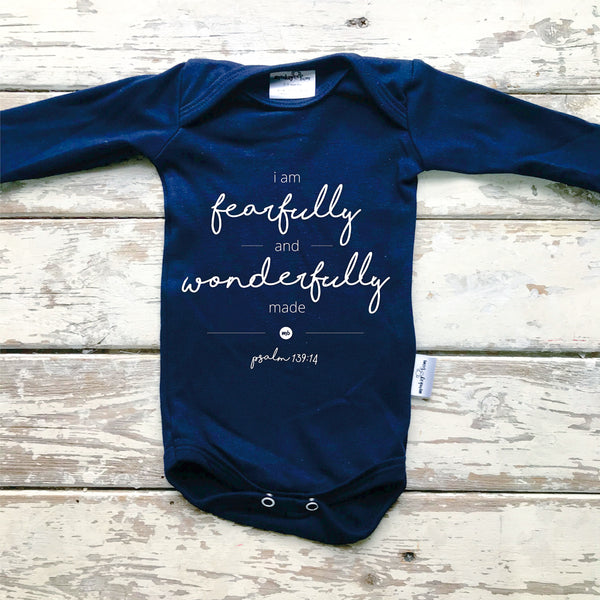 Onesie: Fearfully and Wonderfully Made