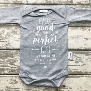 Onesie: Every Good and Perfect Gift