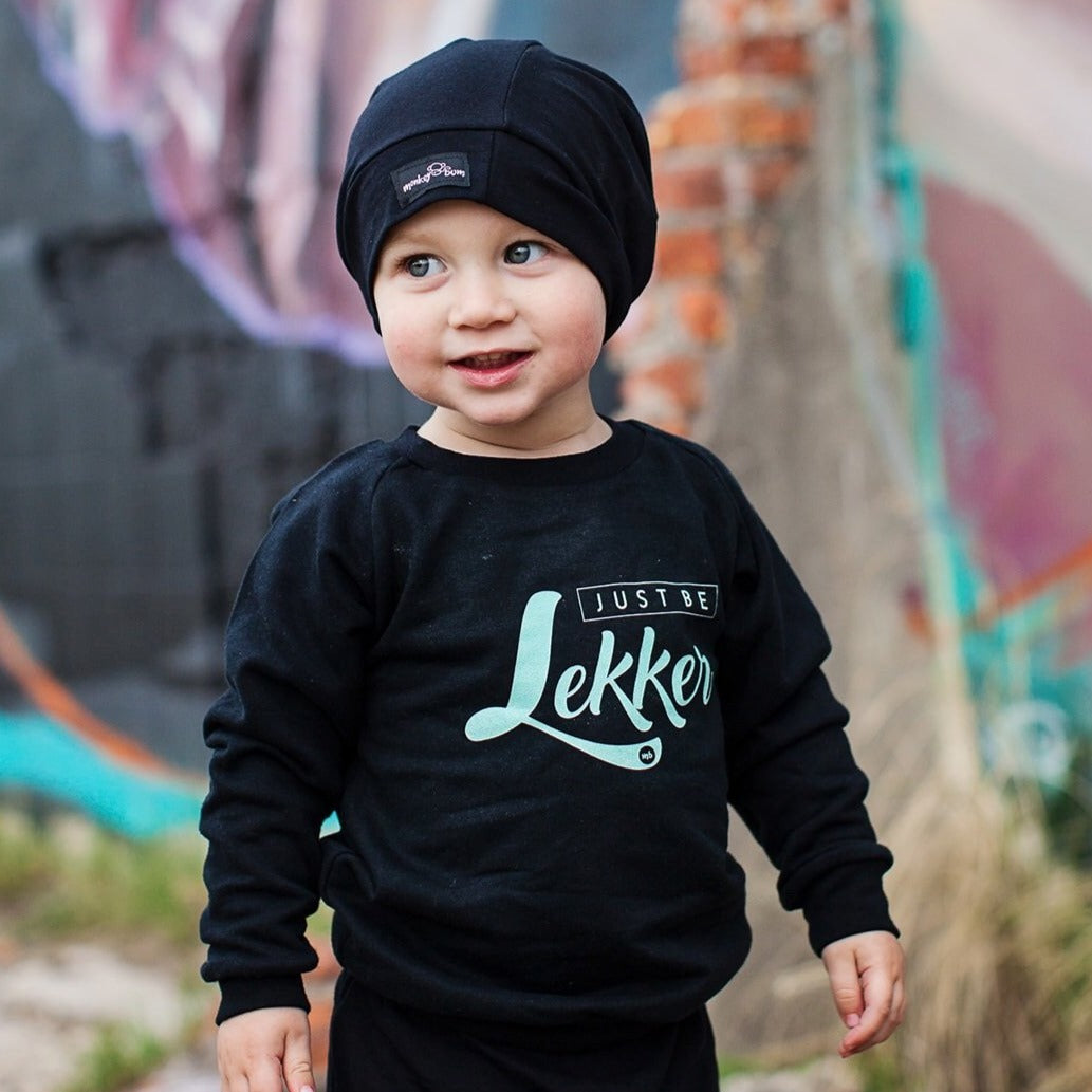 Sweatshirt: Just Be Lekker
