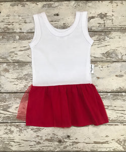 Dress:  White and Red (3-4 only)