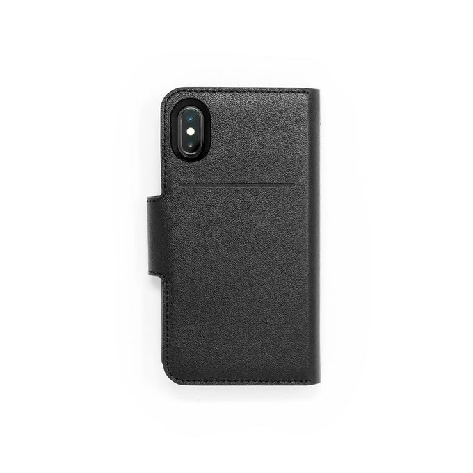Black Leather Best Accessory iPhone XR XS Max Flip Wallet