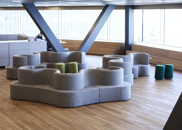 Cloverleaf Sofas for DLA Piper