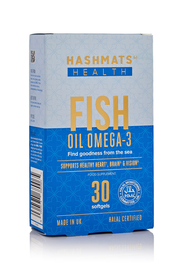 HASHMATS Health Fish Oil Omega-3