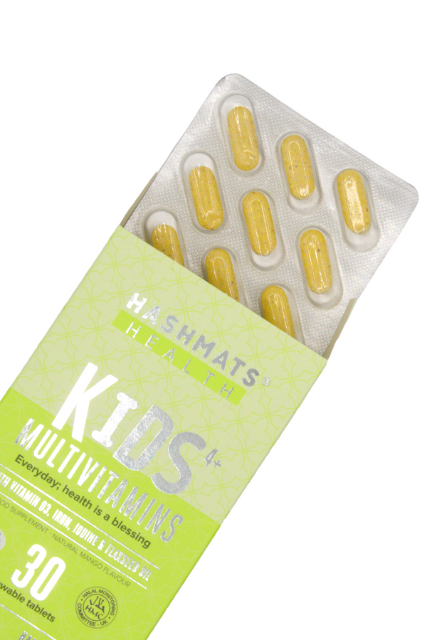 HASHMATS Health Kids 4+ Multivitamins - Natural Mango Flavour