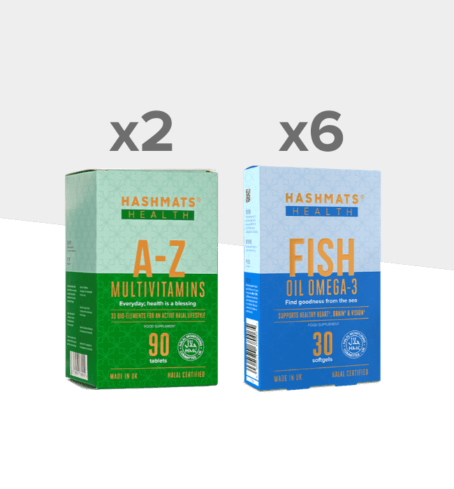 The A-Z + Fish Bundle - Hashmats Health