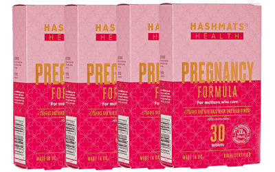Pregnancy Formula (30x4 tablets) Bundle - Hashmats Health