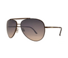 Classıc Avıator Wıth Brow Bar Metal Sunglasses