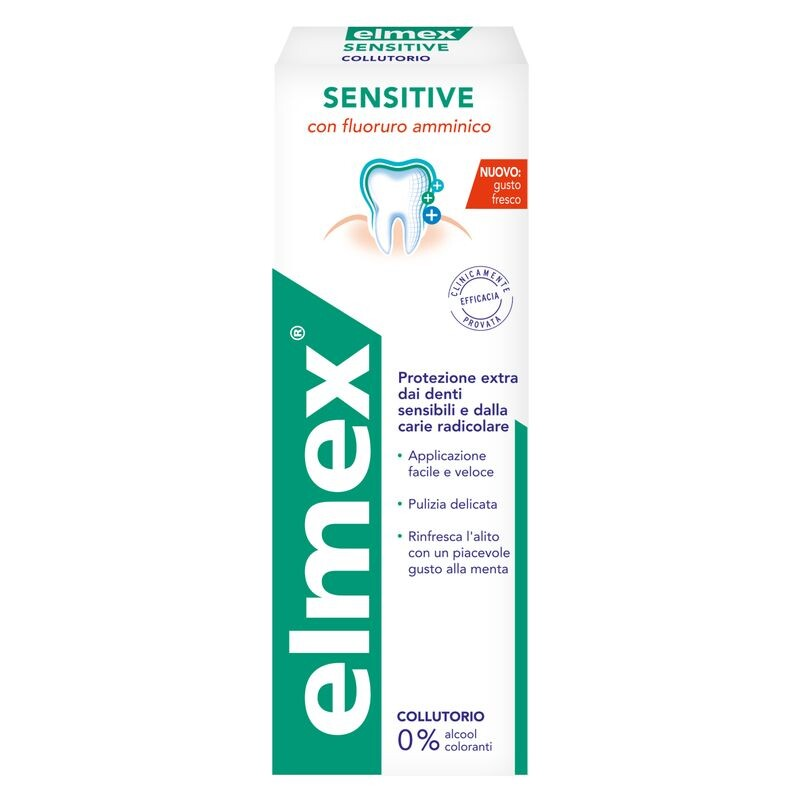 Elmex Sensitive Collutorio 400ml
