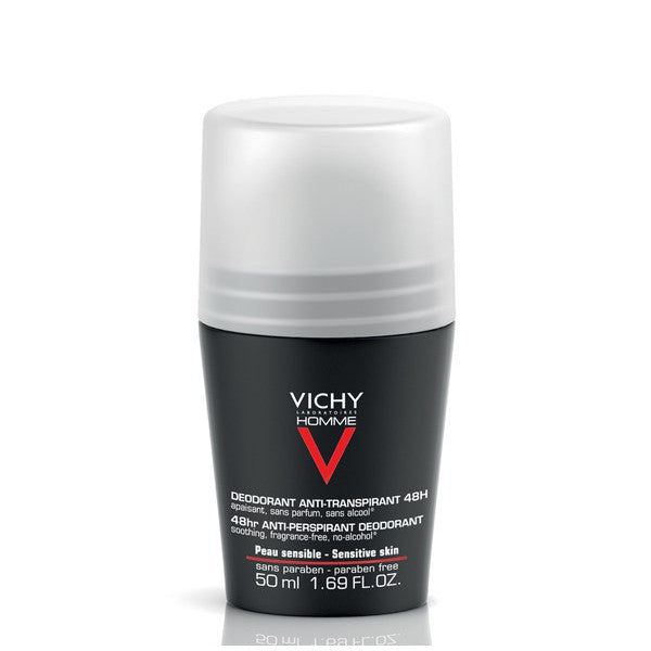 Vichy Homme Deodorante Roll-on Antitraspirante 50 ml