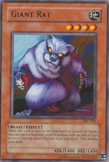 Giant Rat [SRL-079] Rare | The Time Vault CA